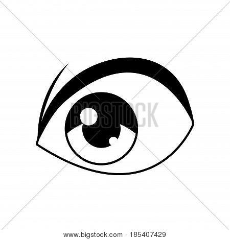 anime eye comic manga image vector illustration