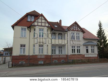 House Listed As Monument In Greifswald, Mecklenburg-vorpommern, Germany
