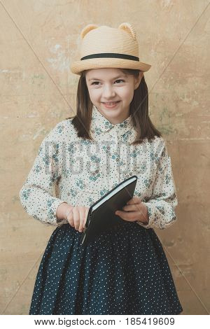 hobby and education knowledge and joy reading poetry retro fashion and beauty childhood and happiness feeling and emotions