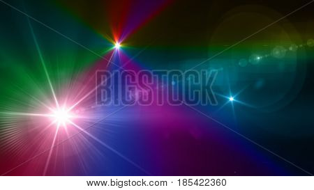 Colorful Volume Light