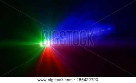 Rgb Color Camera Flash