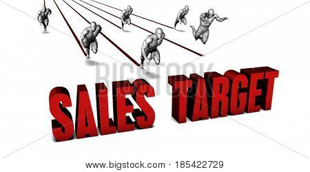 Better Sales target with a Business Team Racing Concept