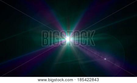 Star Lens Flare Effect