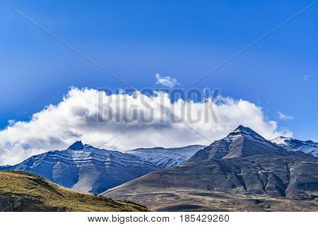 Snowy Mountains Patagonia Argentina