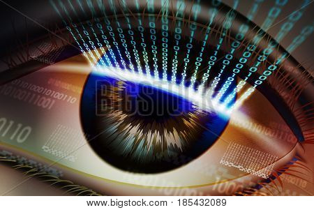 Retina scanning - biometric security devices, access