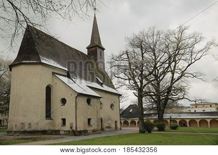 Catholic Church St. Georg Und Katharina In Traunstein, Germany