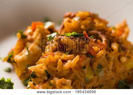 Risotto With Octopus - Traditional Italian Recipe