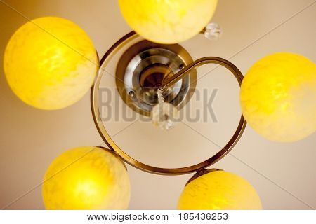 Lighting on ceiling design for home and office.