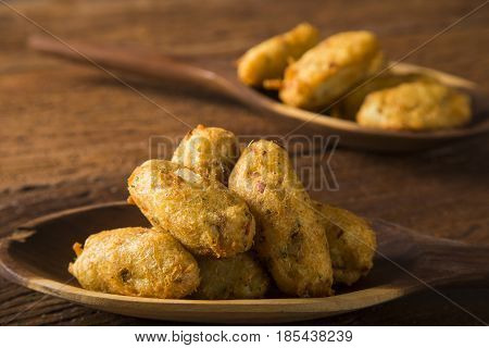 Salt Cod Fritters, Bunuelos De Bacalao