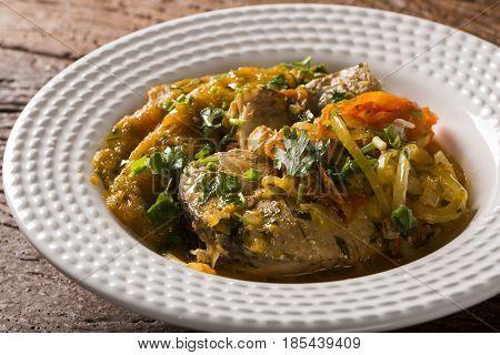 Moqueca - Brazilian Fish Stew