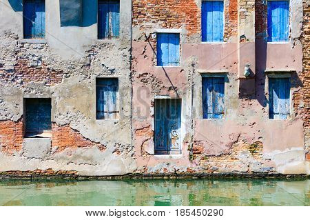 View of the city of Chioggia Italy the little Venice.