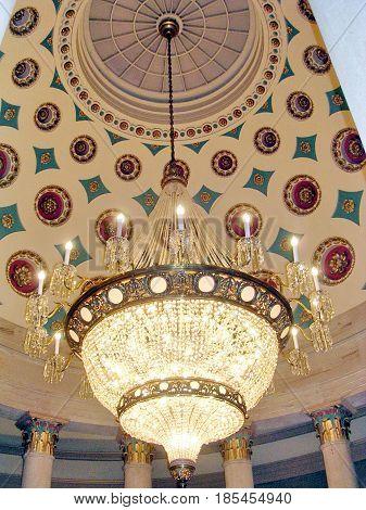 The Small Senate Rotunda in US Capitol in Washington DC