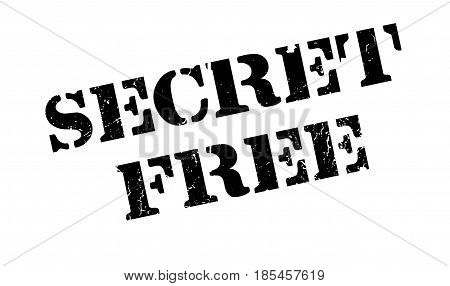 Secret Free rubber stamp. Grunge design with dust scratches. Effects can be easily removed for a clean, crisp look. Color is easily changed.