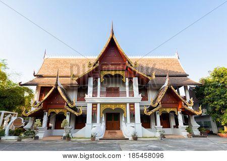 Wat Chian Man Buddhist Temple