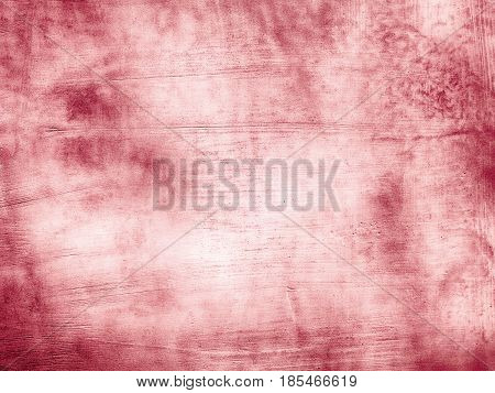 Red Grunge Wall For Texture Background