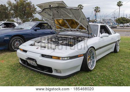 Toyota Supra 1987 On Display