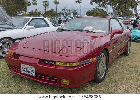 Toyota Supra 1989 On Display