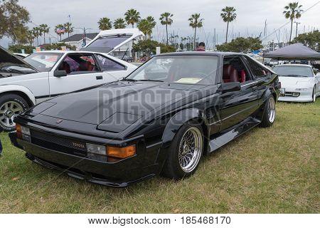 Toyota Celica Supra 1984 On Display