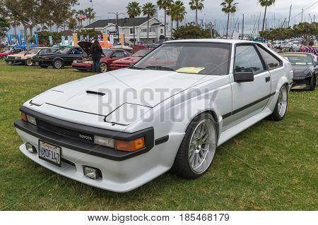 Toyota Celica Supra 1985 On Display