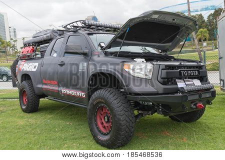 Camburg Toyota Tacoma On Display