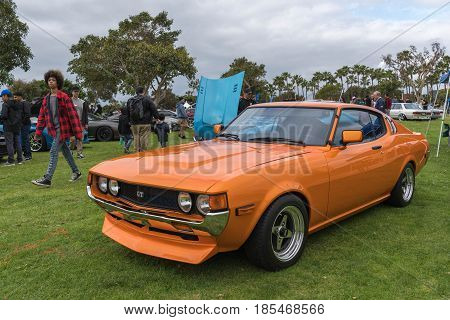 Toyota Celica Gt On Display