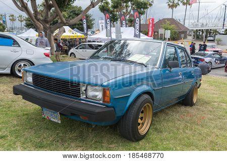 Toyota Corolla 1983 On Display