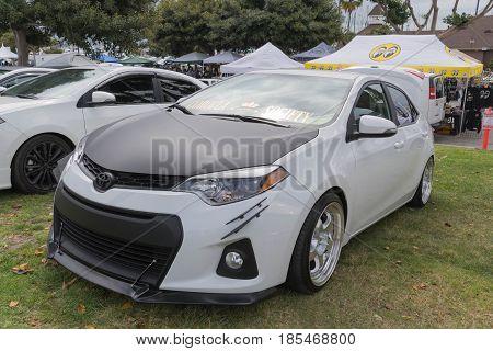 Toyota Corolla 2016 On Display