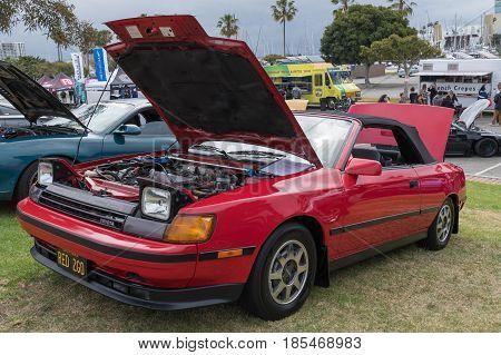 Toyota Celica 1987 On Display