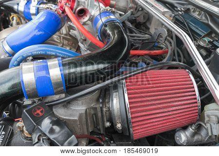 Toyota Celica Engine  1992 On Display