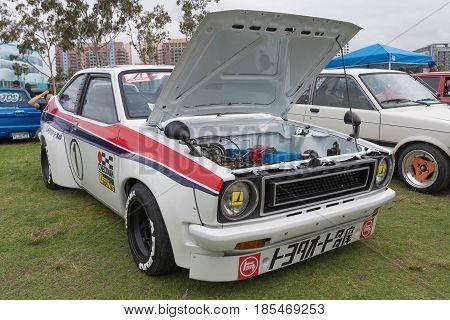 Toyota Starlet 1974 On Display