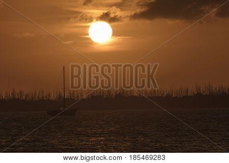 Sunset at Dredger Key - Key West Florida