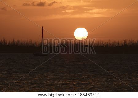 Sunset Dredger Key - Key West Florida