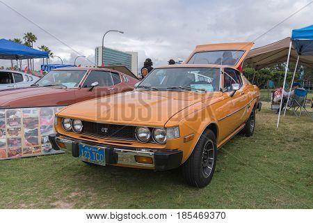Toyota Celica 1977 On Display