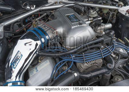 Toyota Celica Engine 1980 On Display