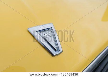 Toyota Celica Emblem 1981 On Display