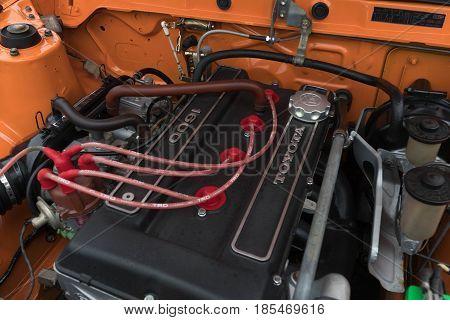 Toyota Corolla Sprinter Engine 1972 On Display