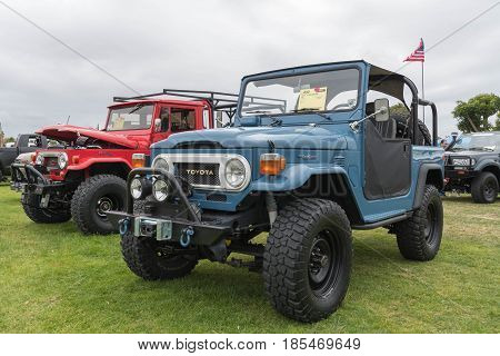 Toyota Land Cruiser 1978 On Display