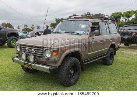 Toyota Land Cruiser 1986 On Display