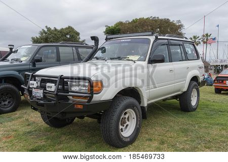 Toyota Land Cruiser 1991 On Display