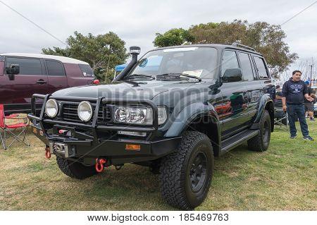 Toyota Land Cruiser 1992 On Display