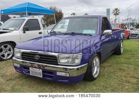 Toyota Hilux 1990 On Display