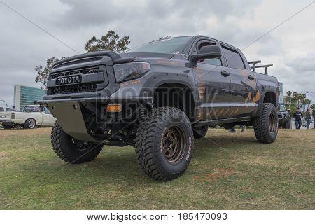 Toyota Tundra Trd On Display