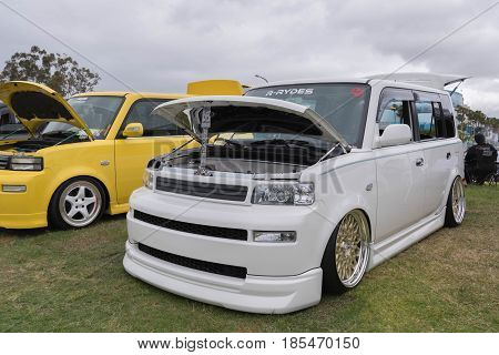 Scion Xb  2006 On Display