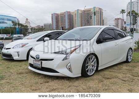 Toyota Prius On Display