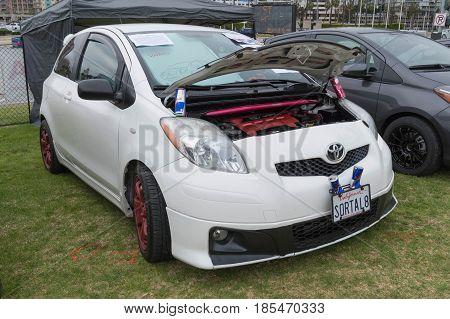 Toyota Yaris On Display