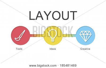 Website Template Content Develop Concept