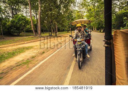 Siem Reap Rickshaw