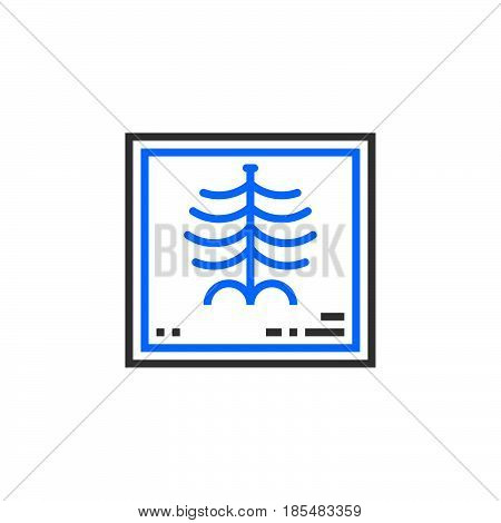 X-Ray of a human rib cage symbol. X-radiation line icon outline vector logo illustration linear pictogram isolated on white