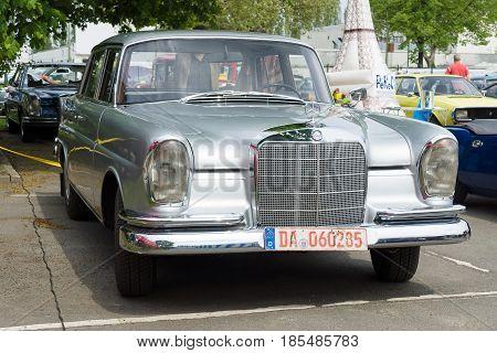 Berlin - May 11: Car Mercedes-benz 220 (w111), 26Th Oldtimer-tage Berlin-brandenburg, May 11, 2013 B