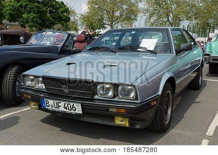 Berlin - May 11: Sport Car Maserati Biturbo (tipo 116), 26Th Oldtimer-tage Berlin-brandenburg, May 1